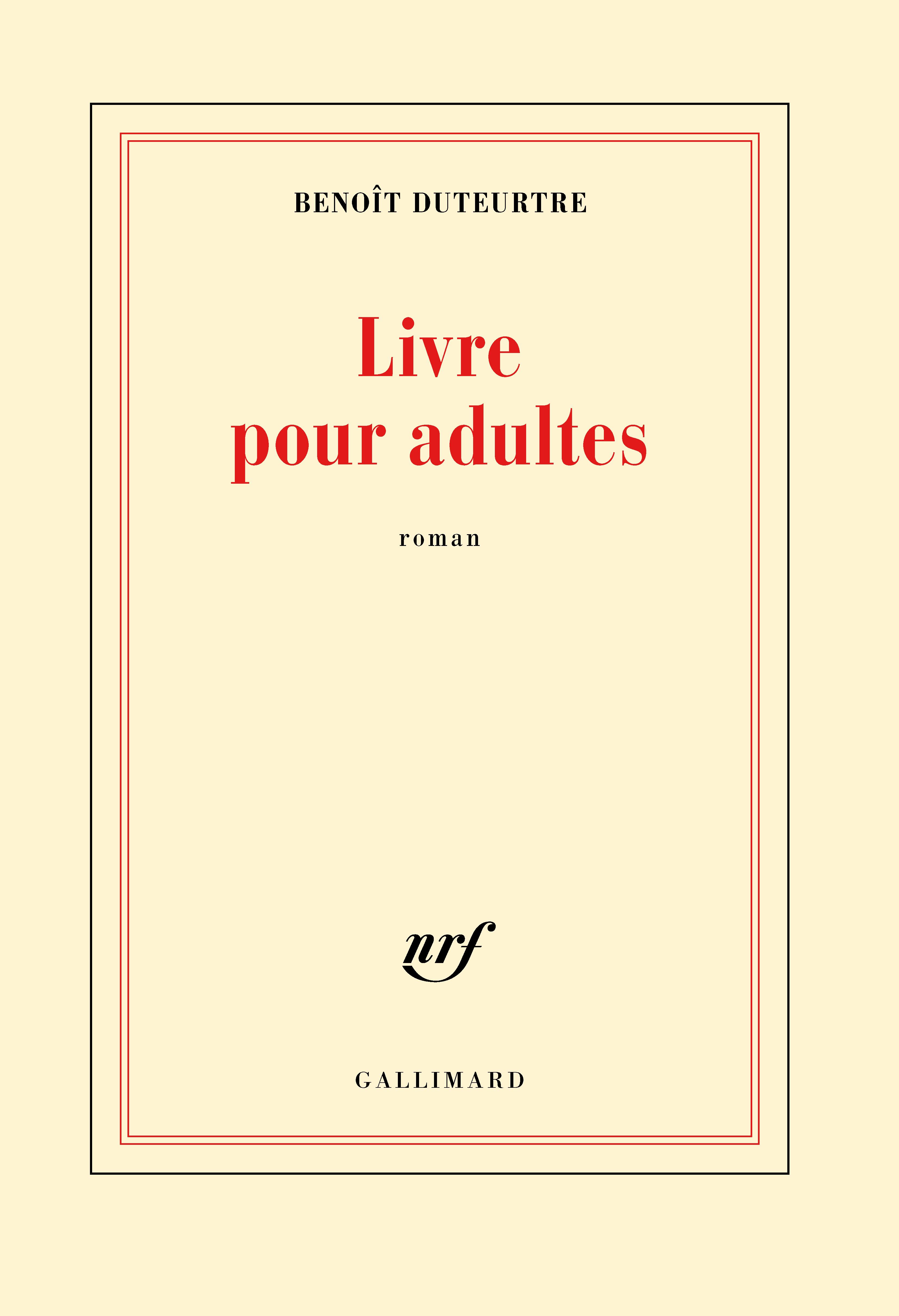 Livre Pour Adultes Blanche Gallimard Site Gallimard