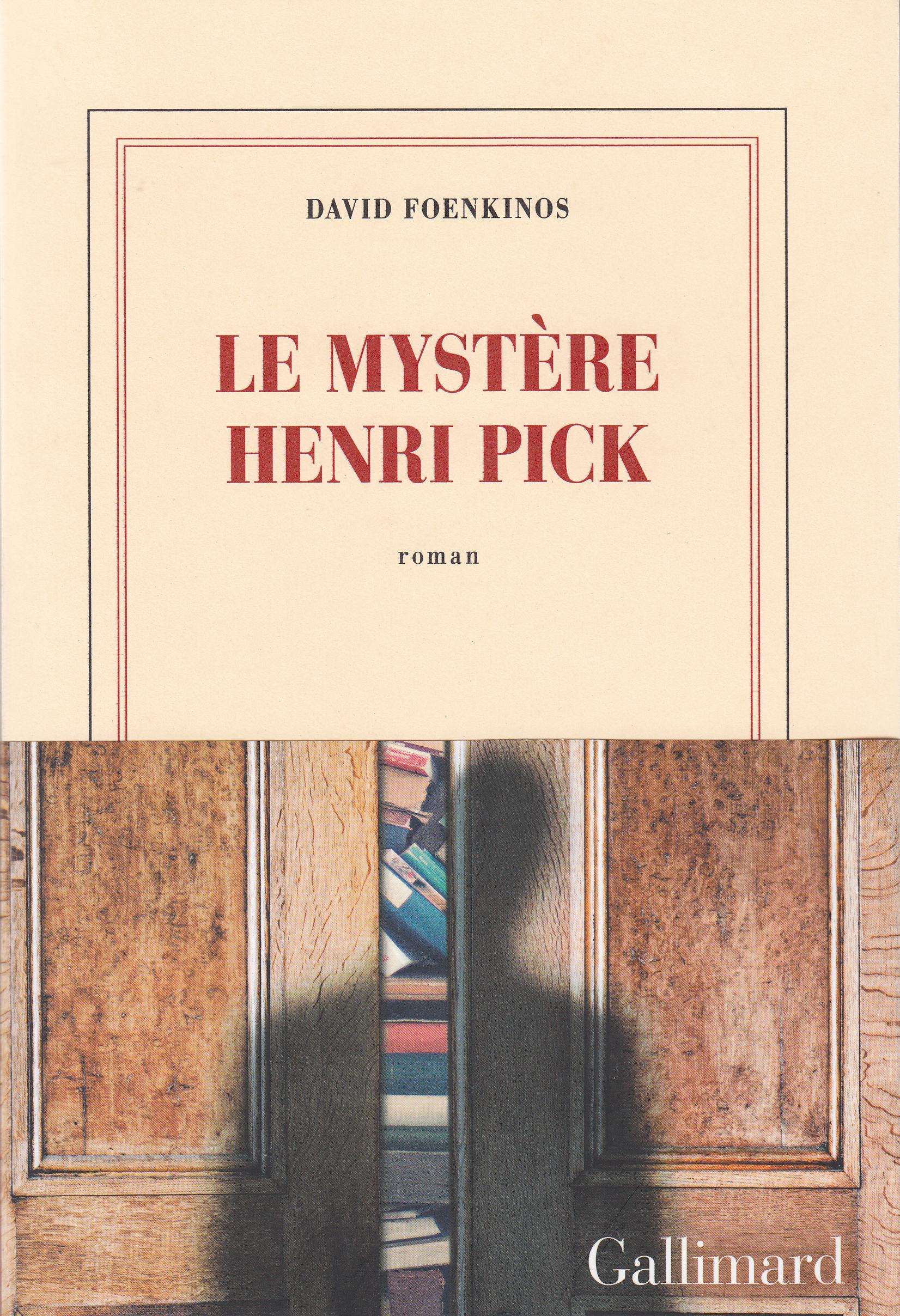 """Résultat de recherche d'images pour """"le mystère henri pick"""""""