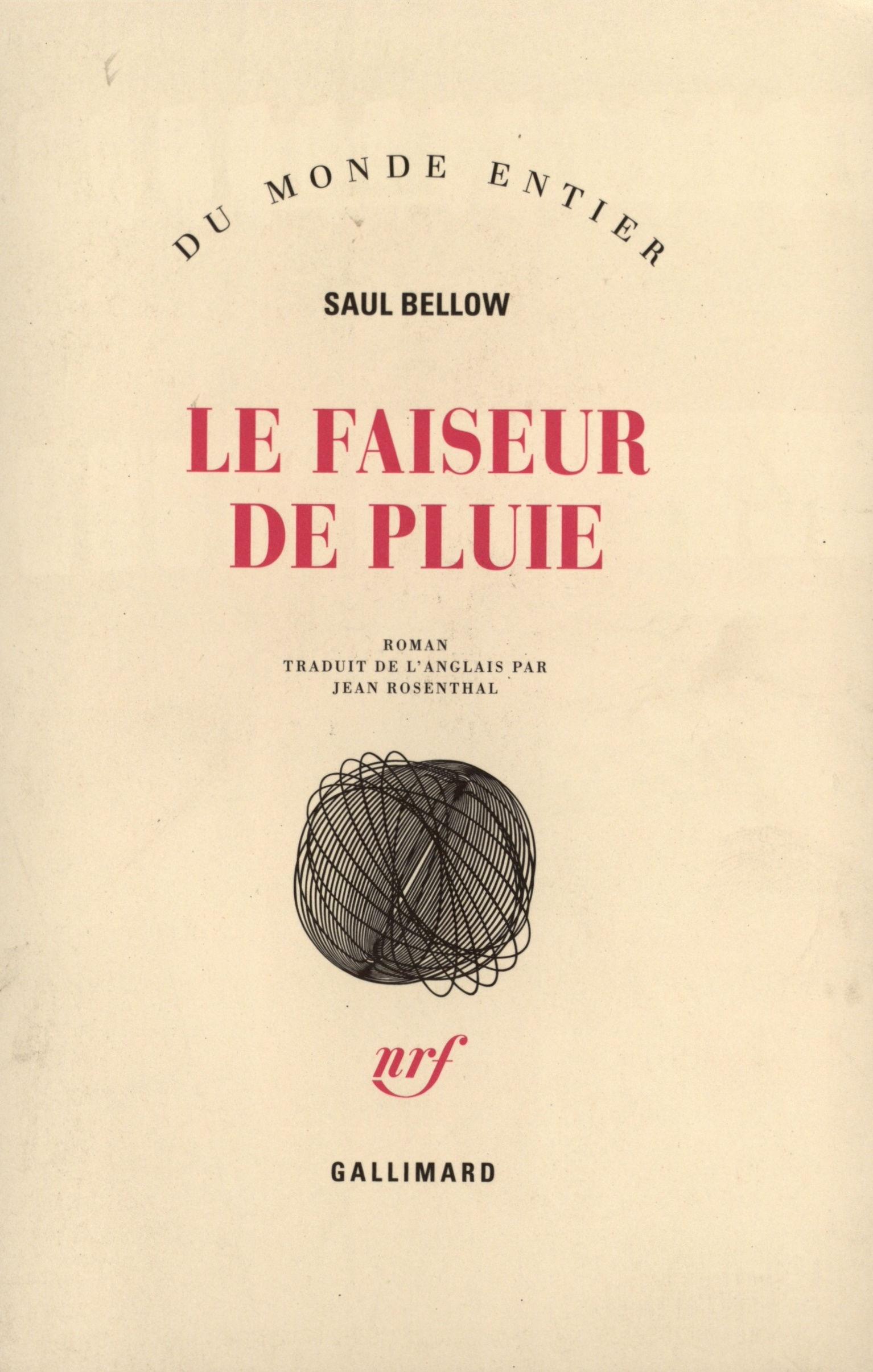 """Résultat de recherche d'images pour """"le faiseur de pluie saul bellow"""""""