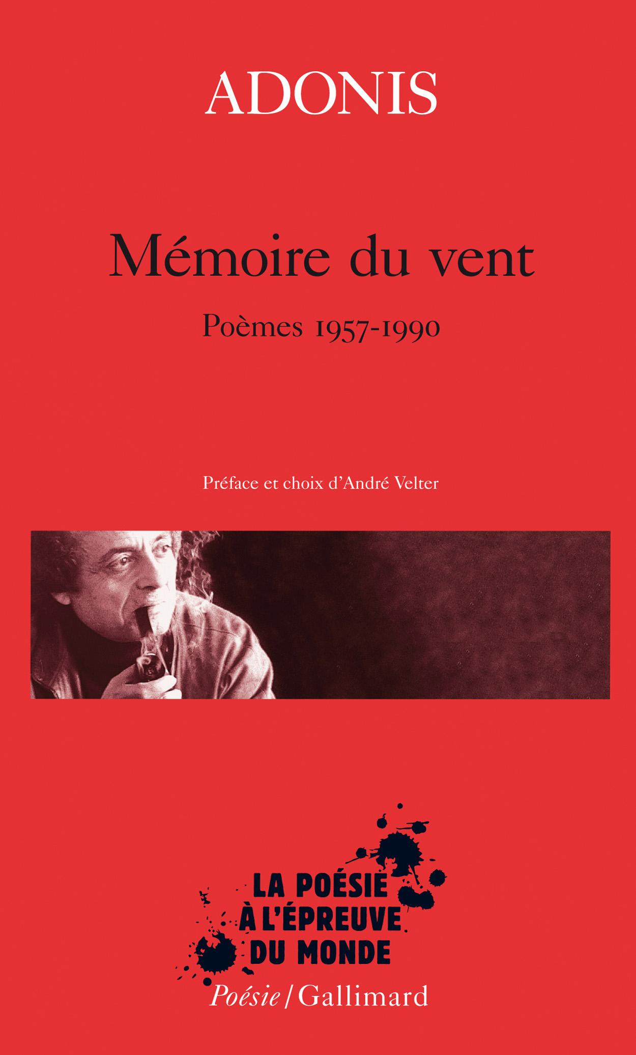 Mémoire Du Vent Poésiegallimard Gallimard Site Gallimard
