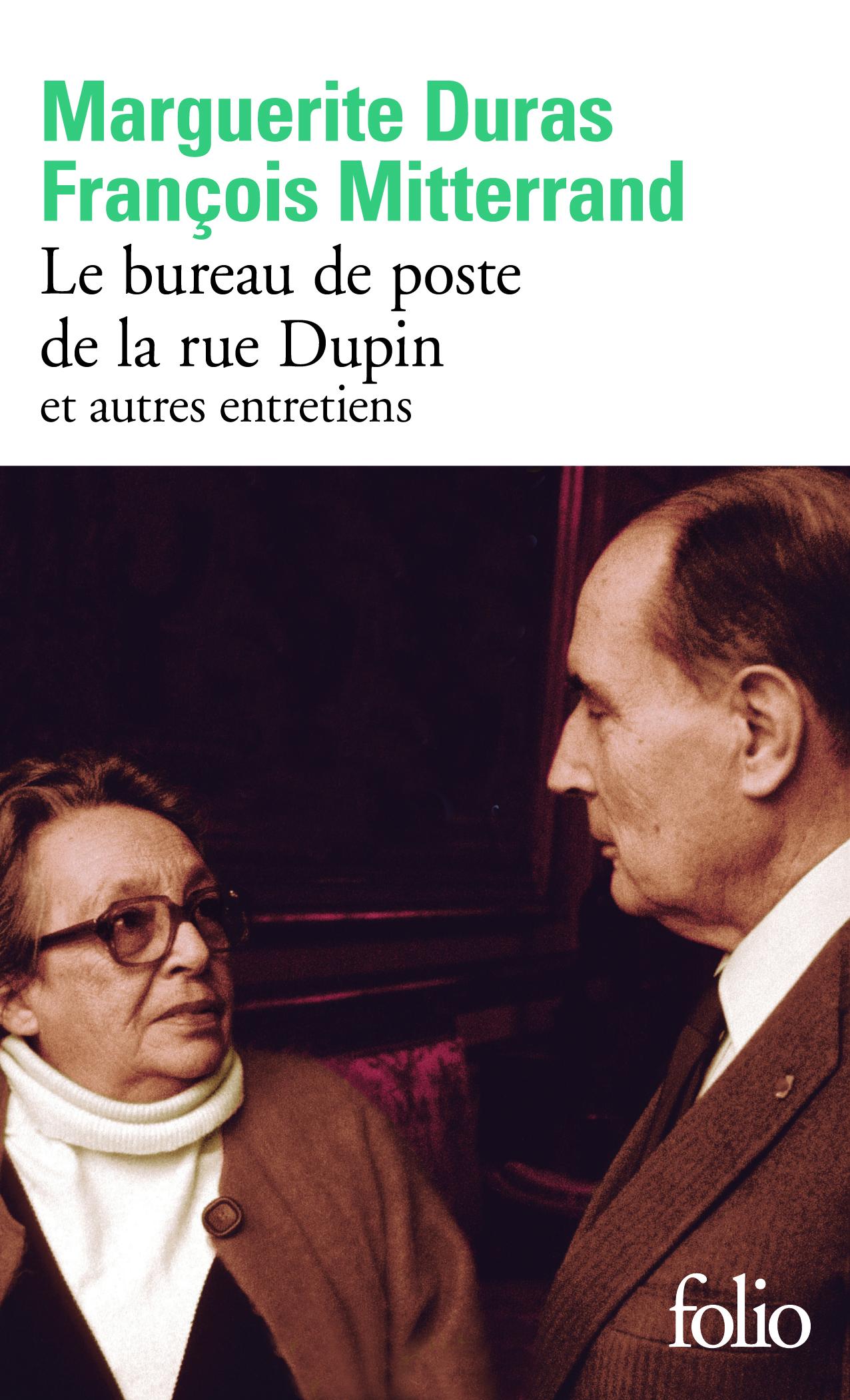 Le Bureau De Poste De La Rue Dupin Et Autres Entretiens Folio