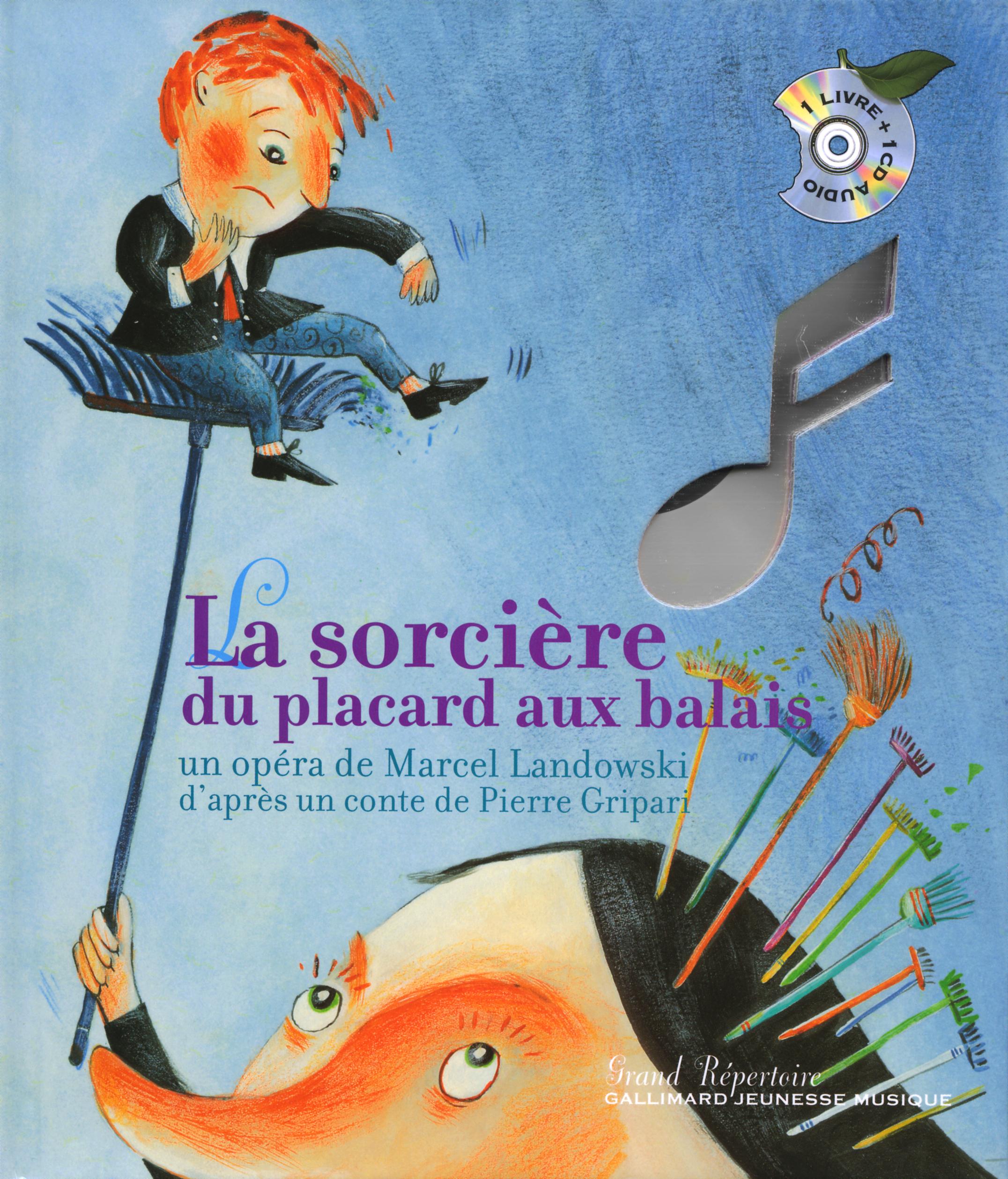 La Maison Du Placard Paris pour la sorcière du placard aux balais - grand répertoire - gallimard