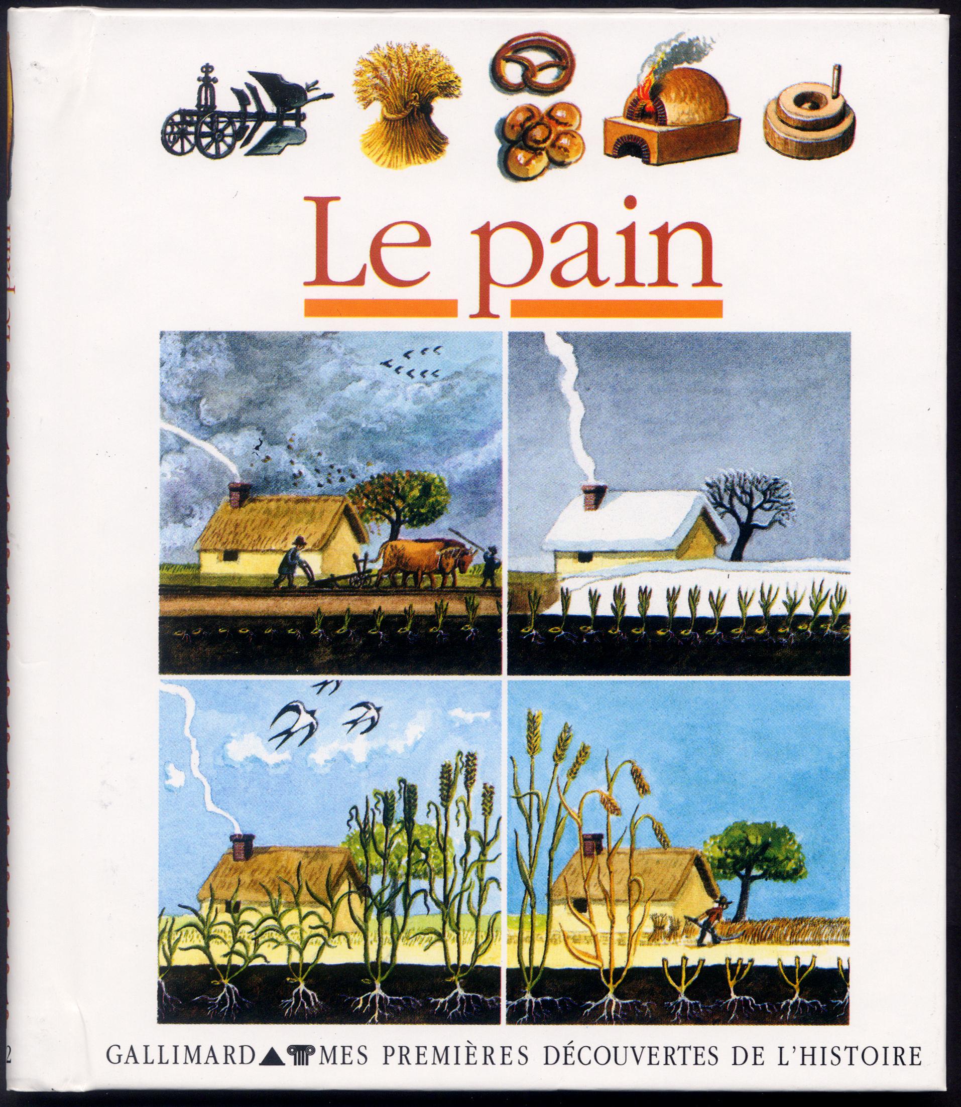 """Résultat de recherche d'images pour """"documentaire le pain gallimard"""""""
