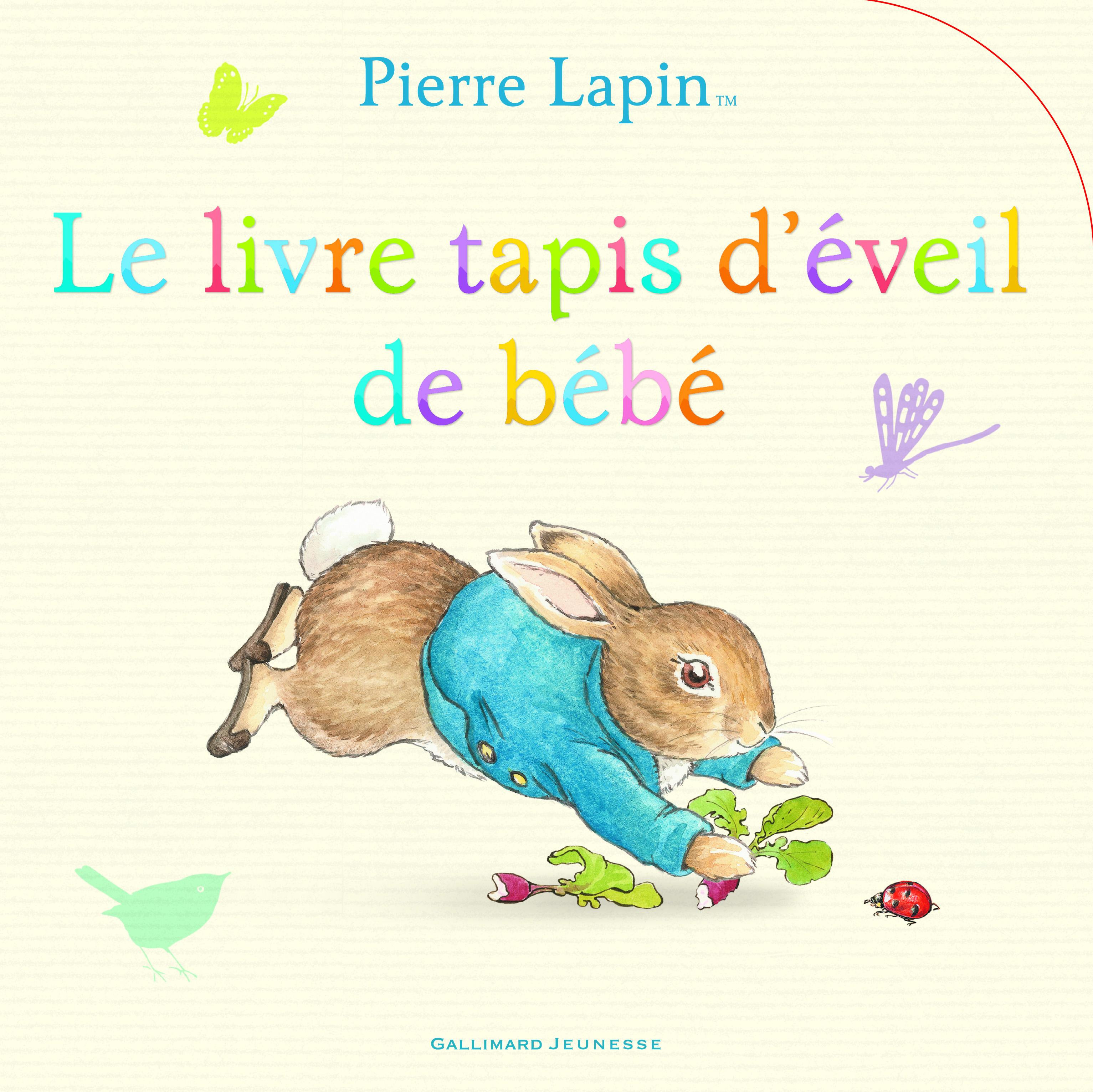 Pierre Lapin Le Livre Tapis D Eveil De Bebe Beatrix