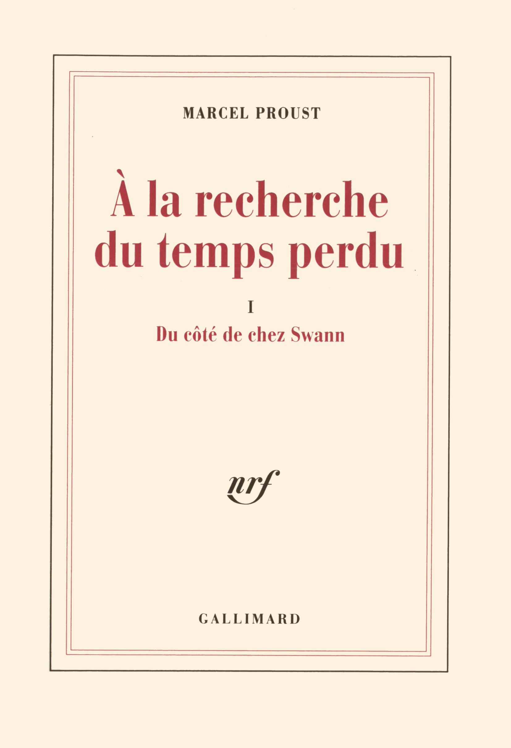 Du Cote De Chez Swann Blanche Gallimard Site Gallimard