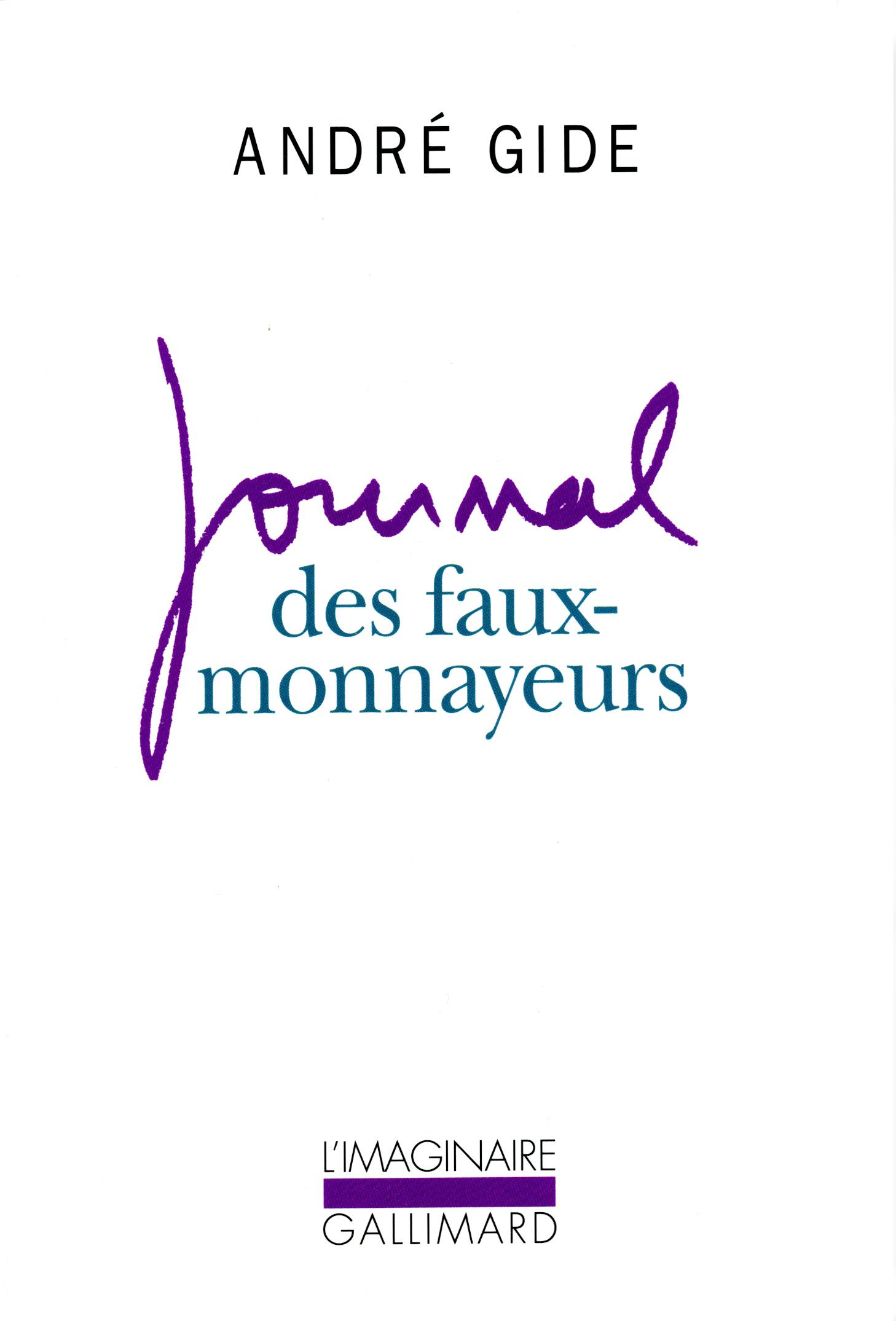 """Résultat de recherche d'images pour """"journal faux monnayeurs"""""""