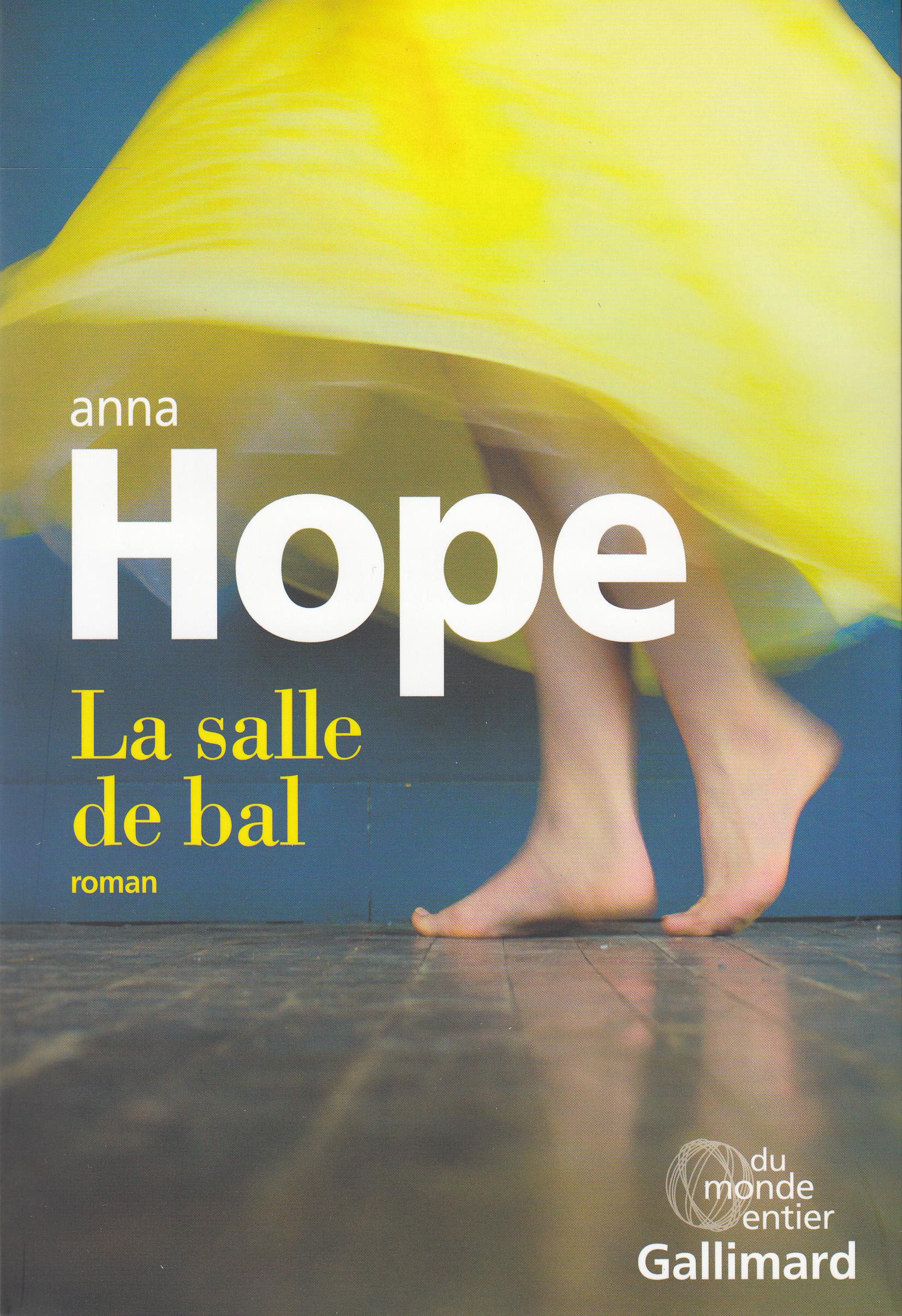 """Résultat de recherche d'images pour """"La salle de bal d'Anna Hope edition Gallimard"""""""