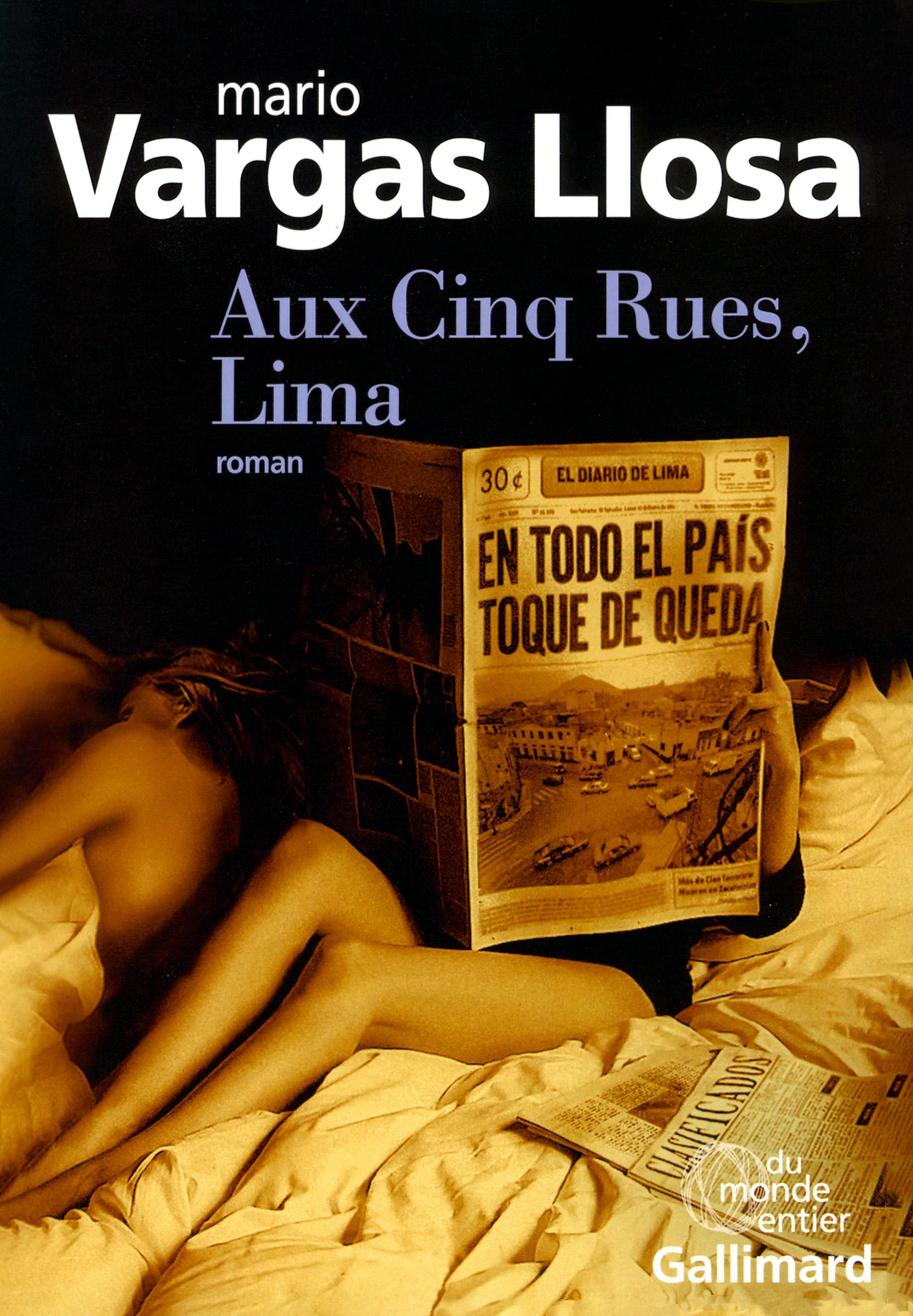 """Résultat de recherche d'images pour """"mario vargas llosa Aux Cinq Rues, Lima"""""""