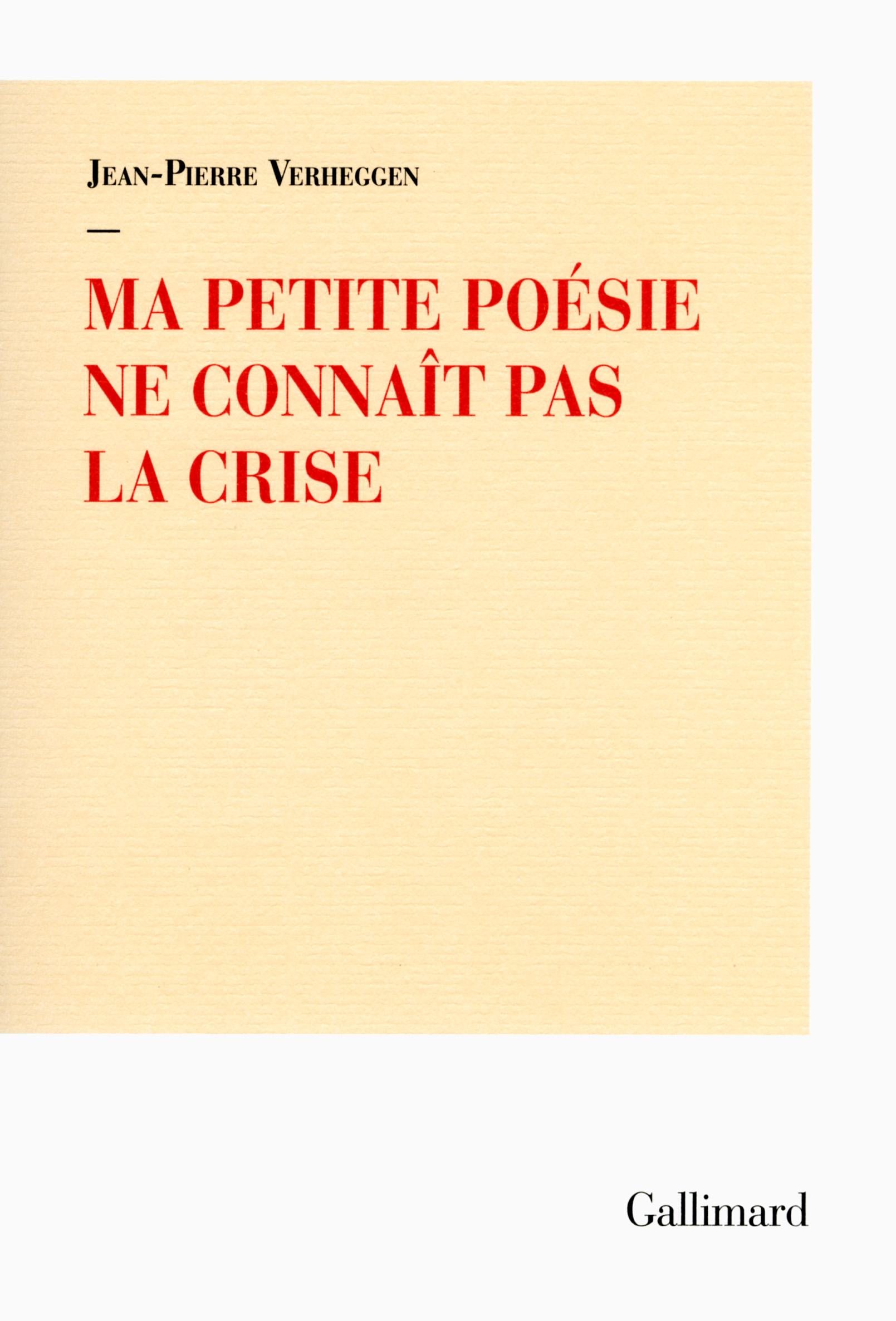 970296c11d0 ... Hors série Littérature  Ma petite poésie ne connaît pas la crise.  Télécharger la couverture ...