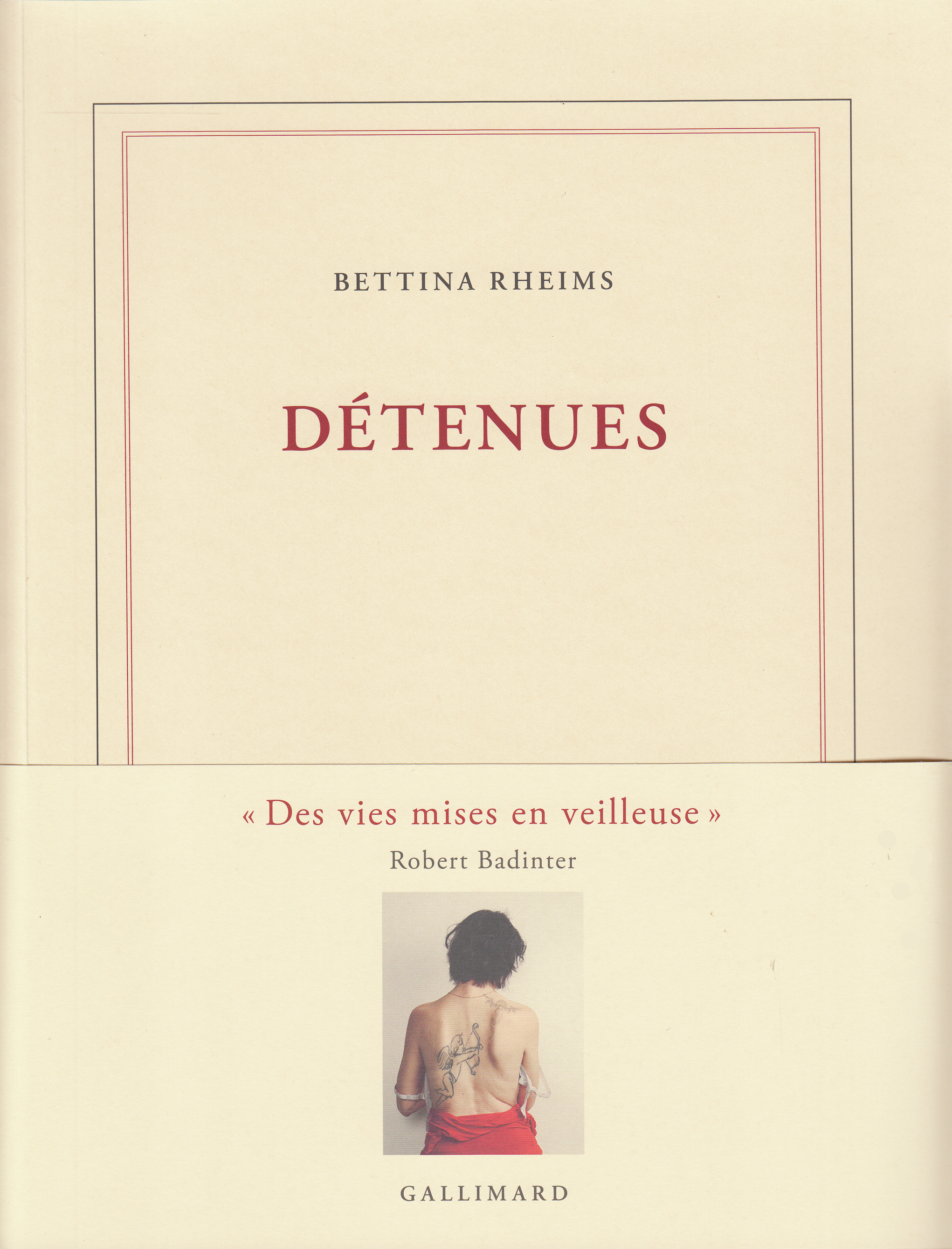 Detenues Blanche Gallimard Site Gallimard