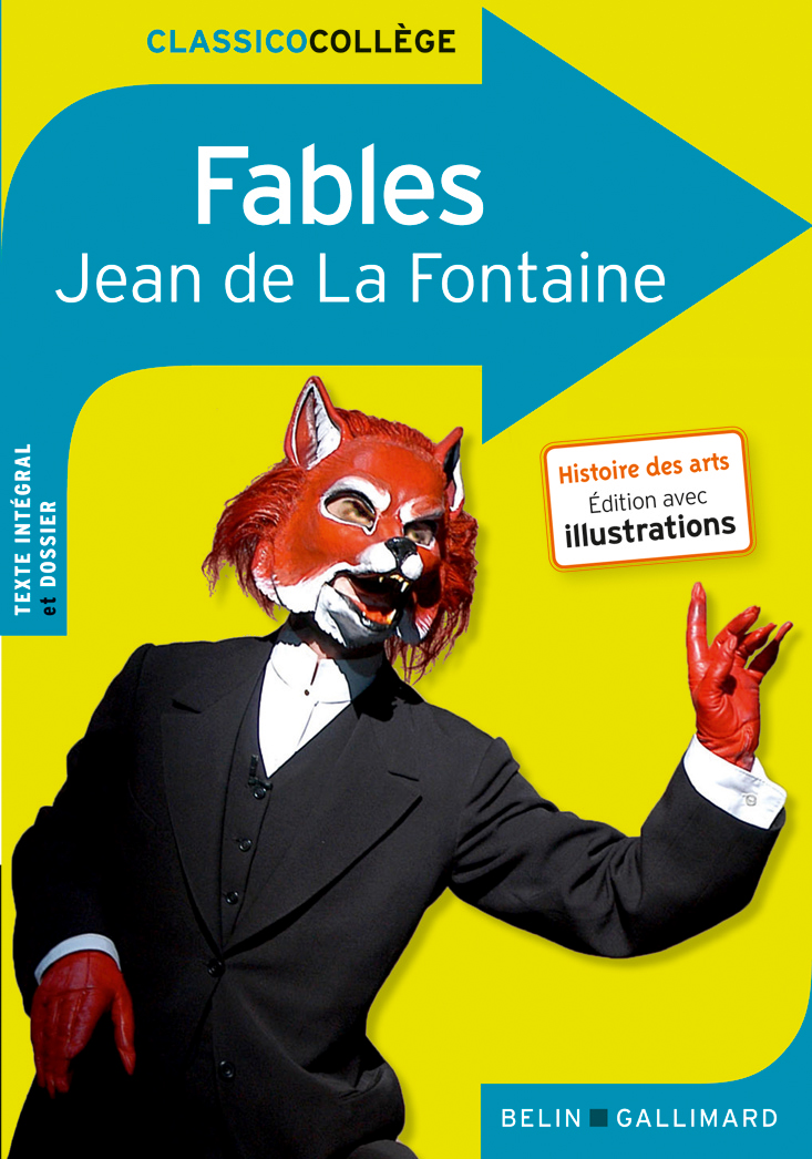 Fables Classico College Belin Gallimard Site Gallimard