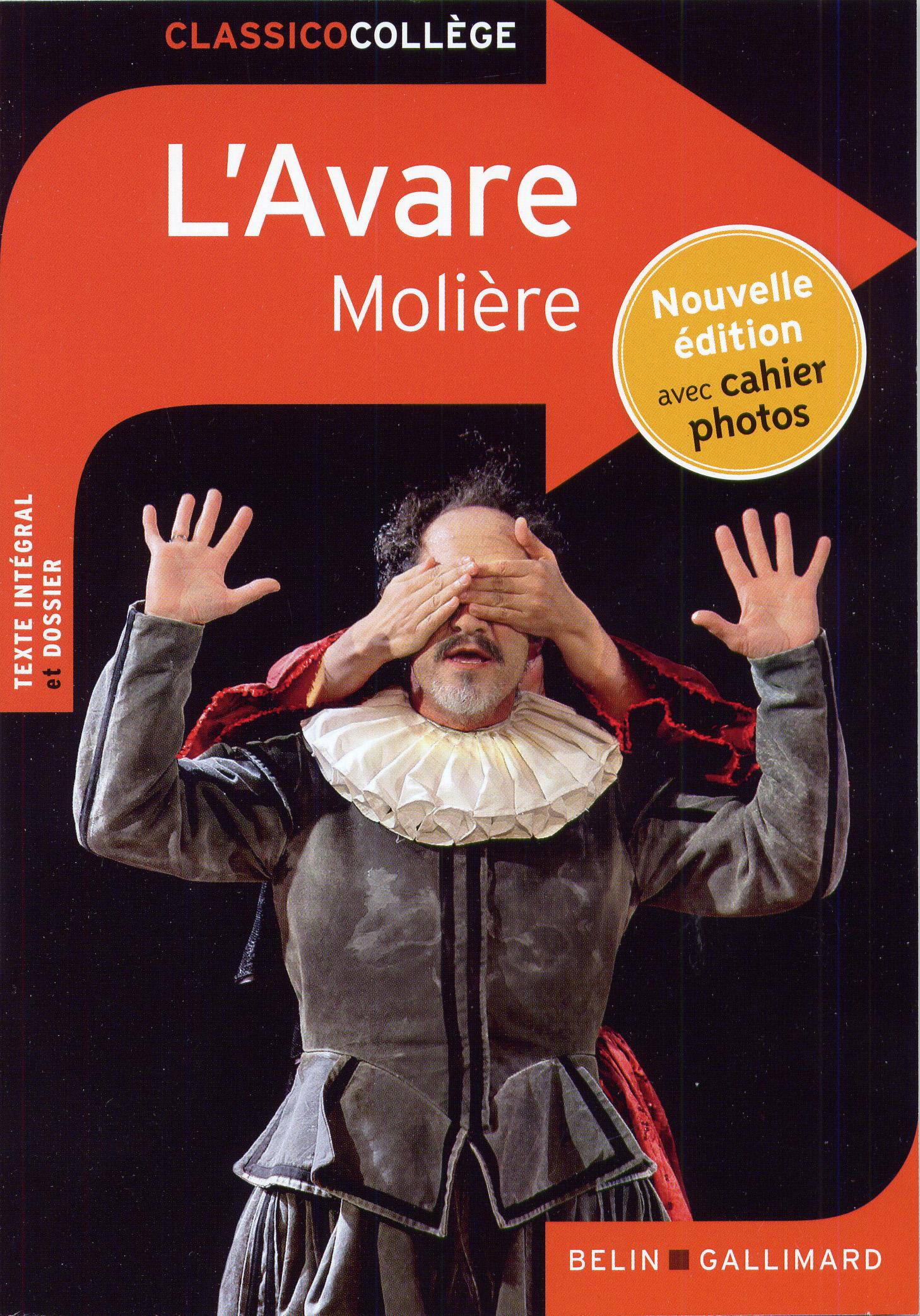 L\'Avare - Classico Collège - Belin Gallimard - Site Gallimard