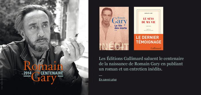 Centenaire Romain Gary
