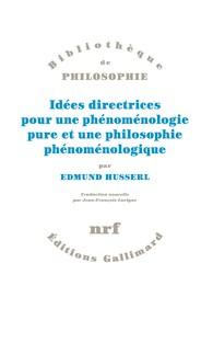 Idées directrices pour une phénoménologie pure et une philosophie phénoménologique Book Cover