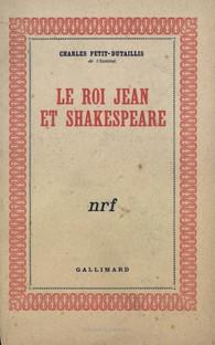 0a1eee66198 ... Hors série Littérature  Le Roi Jean et Shakespeare. Télécharger la  couverture ...
