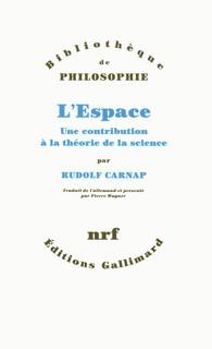 L'Espace. Une contribution à la théorie de la science [Der Raum. Ein Beitrag zur Wissenschafstlehre] Book Cover