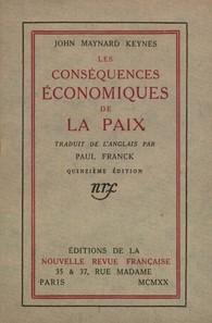 """Résultat de recherche d'images pour """"consequences economiques de la paix keynes"""""""