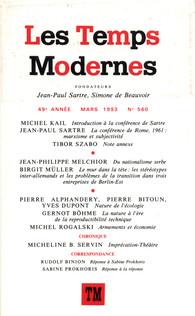 les temps modernes revue les temps modernes gallimard site gallimard
