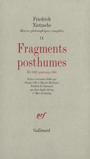 """Résultat de recherche d'images pour """"Nietzsche oeuvres IX"""""""
